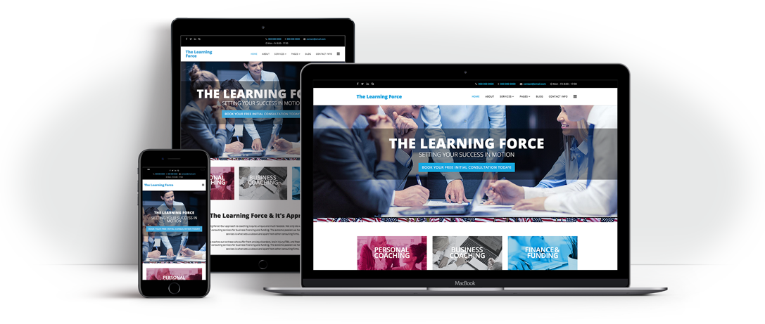 The Learning Force Website