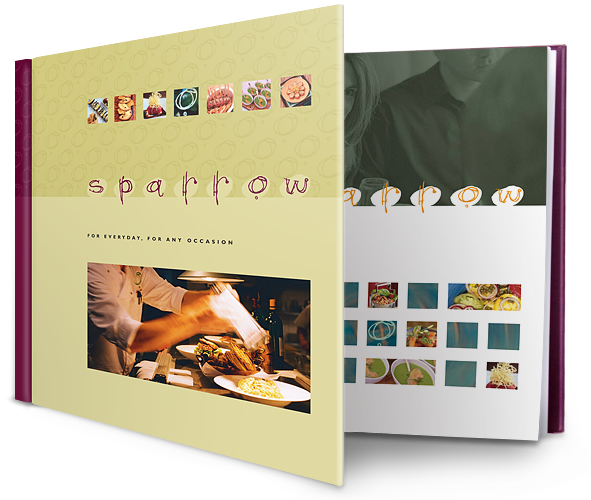 Sparrow Coffee Table Book
